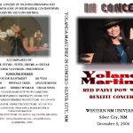 Yolanda in Concert – Silver City, NM