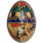 Art Deco Egg Shaker