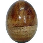 Plain Wood Egg Shaker #31126