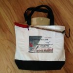 Two-Tone Deluxe Classic Cotton Tote Bag